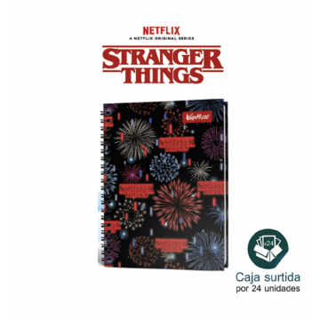 Cuaderno Stranger Things -...